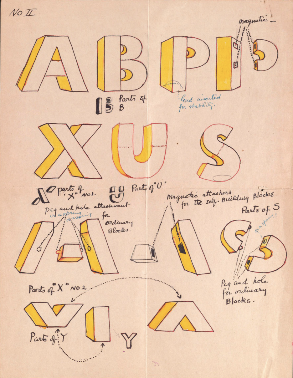 Loy's alphabet game design
