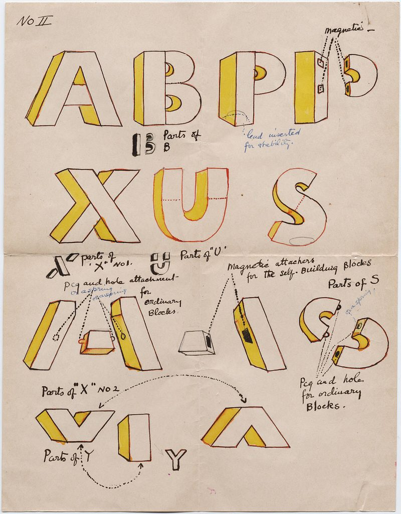 design for Loy's alphabet game