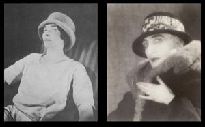 Mina Loy and Rrose Celavey (Marcel Duchamp)
